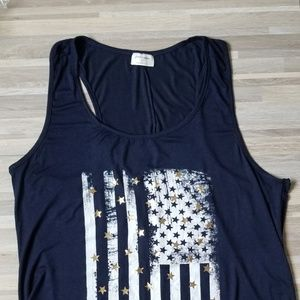4th of July tank top XL